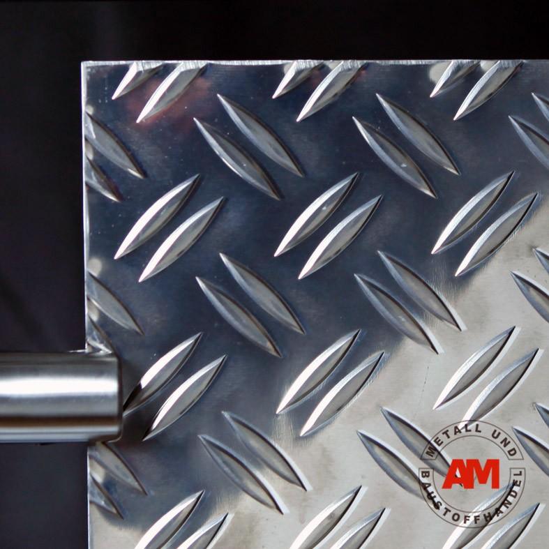 Aluminium Riffelblech Duett