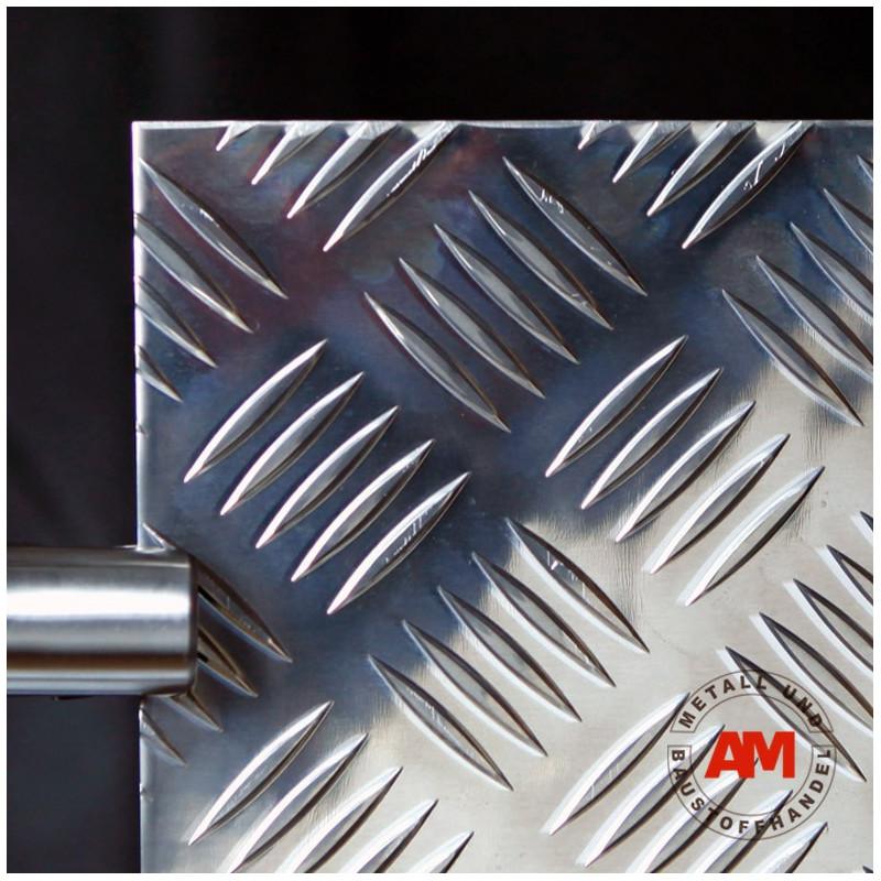 Riffelblech Quintett Aluminium