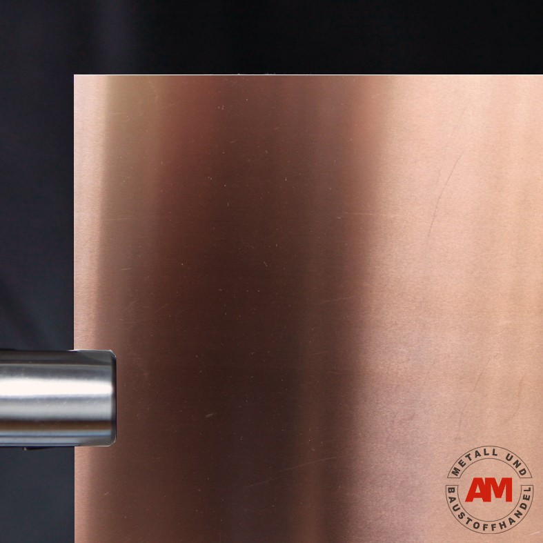Kupfer Glattblech