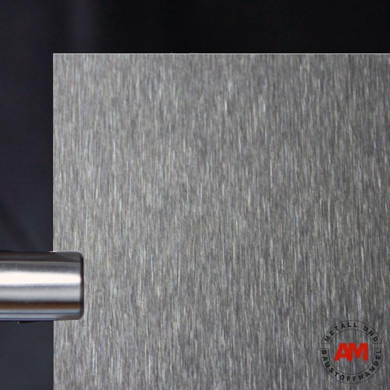 Edelstahlblech beidseitig geschliffen - K240