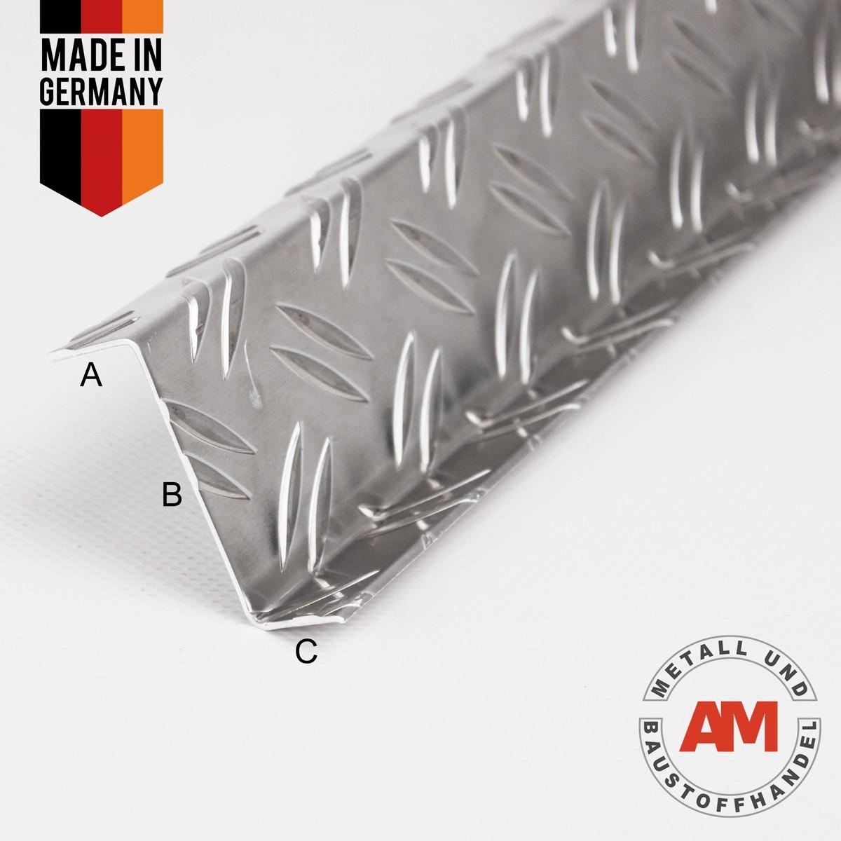 Aluminium Riffelblech Z-Profil