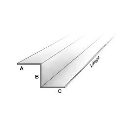 Edelstahl Z-Profil Blank