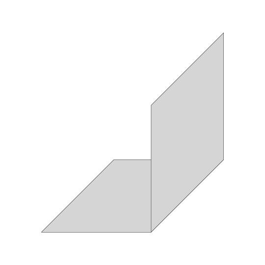 Edelstahl Hut-Profil V2A Blank
