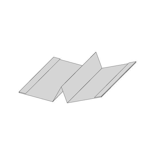 Aluminium Hut-Profil Glattblech