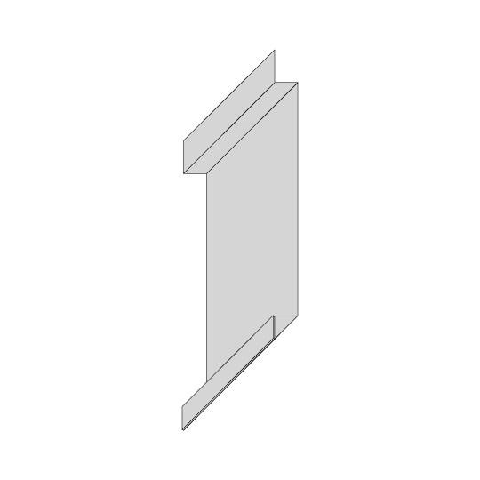 Hut-Profil Aluminium Riffelblech