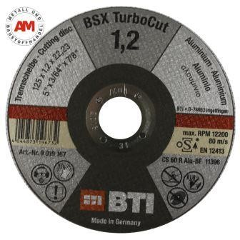 BTI Aluminium Trennscheibe